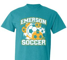 5a86450f077 High School Impressions Custom Soccer Tees - Create your own design for t- shirts, hoodies, sweatshirts. Choose your Text, Ink and Garment Colors