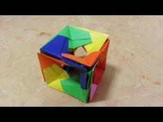 719 종이접기 (큐브) 색종이접기 Origami  摺紙 折纸 оригами 折り紙  اوريغامي - YouTube Origami Cube, Paper Folding, Kirigami, Diy Art, Paper Crafts, Toys, Youtube, Videos, Ocean