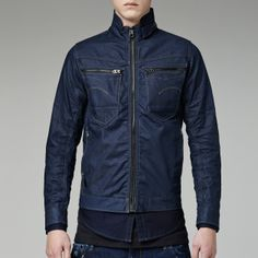 G-Star RAW - G-star New Riley Slim 3d Jacket - Men - Jackets