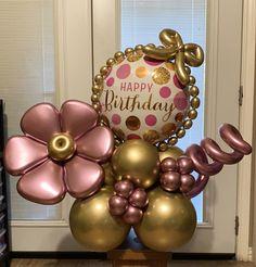 Small Balloons, Mini Balloons, Balloons And More, Balloon Arrangements, Balloon Centerpieces, Birthday Balloon Decorations, Birthday Balloons, Balloon Bouquet, Balloon Arch