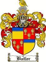 Butler Coat of Arms / Butler Family Crest