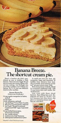 Banana Breeze    Source: Ladies' Home Journal, August 1975