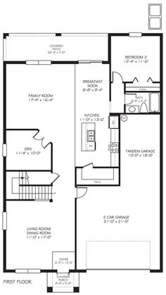 Second floor of st john townhome floor plans for Floor plans for real estate marketing