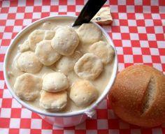 New England Clam Chowder #FoodRepublic