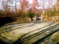Labyrinth at Delaware Art Museum (photo by Susanna Roberts Davison November 20, 2014)