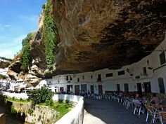 Of all the interesting places I've been, Setenil de las Bodegas is definitely near the top of that list! Oh The Places You'll Go, Places Ive Been, Places To Visit, San Sebastian Spain, Andalucia Spain, Europe Holidays, Seville Spain, Spain And Portugal, Spain Travel