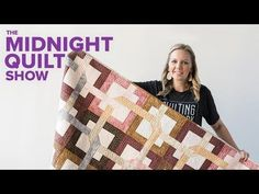 """""""Four Square"""" Modern 4 Patch Quilt 