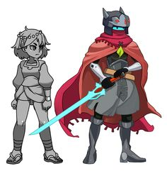 """Indivisible on Twitter: """"Today's #IndivisibleRPG crossover reveal is none other than The Drifter from @HeartMachineZ's #HyperLightDrifter! https://t.co/rQBN3q0dGX"""""""