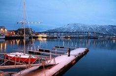 Polar Night // Tromso, Norway // by pntphoto, via Flickr