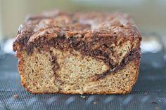 Chocolate Swirl Paleo Banana Bread (Grain-Free)