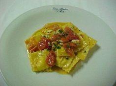 Cucina ligure: i ravioli di pesce e verdura   Ricette di ButtaLaPasta