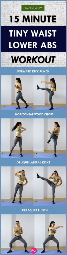 Want a high-calorie burning tiny waist workout that doesn't involve jumping? This routine is perfect for you! No equipment or explosive movement that isn't hard on the joints. Do the whole workout at least 2 times for maximum burn!