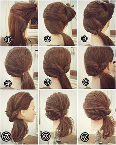 Keep Your Locks Healthy With These Hair Care Tips - Lifestyle Monster Easy Updo Hairstyles, Pretty Hairstyles, Amazing Hairstyles, Hair Arrange, Pinterest Hair, Hair Dos, Hair Hacks, Bridal Hair, Hair Inspiration