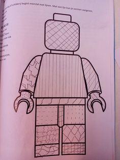 Legopoppetje lijnen