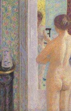 La toilette rose. Dix ans après sa dernière exposition à Paris, Pierre Bonnard (1867-1947) s'installe au musée d'Orsay. La rétrospective qui lui est consacré ouvre ses portes mardi 17 mars et retrace les différen...
