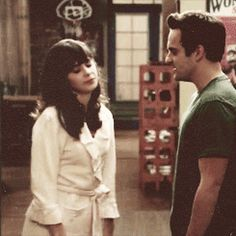 nick and jess (New Girl)  it FINALLY happened!