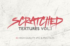 Check out Scratched Textures Vol. 1 by Gabor Monori on Creative Market