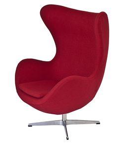 Arne Jacobsen inspired egg chair! I love it!! Stunning design