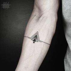 Simple Geometric Tattoo by Okan Uckun