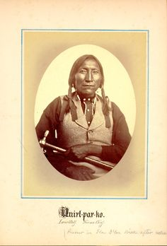 my great great grandfather chief lone wolf