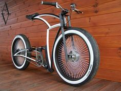 Hot-rod style bike