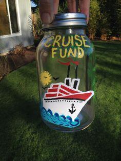 Cruise Fund. Hand Painted. $12