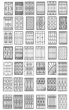Window Coverings For Sliding Glass Windows - Elegant minimalist glass window pattern design Elegant minimalist glass window pattern design Elega - Home Window Grill Design, Modern Window Design, Iron Window Grill, Window Grill Design Modern, House Window Design, Balcony Grill Design, Grill Door Design, Balcony Railing Design, House Gate Design