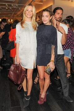 Poppy Delevingne and Chelsea Leyland Mulberry Cara Delevingne Party
