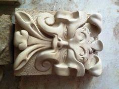 splendido mascherone in pietra leccese