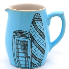 Esther Coombs Hand-Drawn Ceramics.