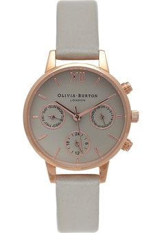 OLIVIA BURTON - OB15CGM54 Midi Chrono Detail rose gold-plated watch   Selfridges.com