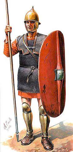 Libyan-Phoenician Veteran