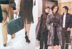 Prada really hasn't hit a high like this campaign for a while... f/w 2000-2001, with Hannelore Knuts and Matheo Renoir.