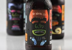 Wensky Beer's Folklore Line on Packaging of the World - Creative Package Design Gallery