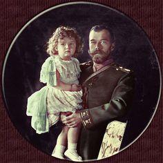 Tsar Nicholas and Alexei by KraljAleksandar.deviantart.com on @DeviantArt