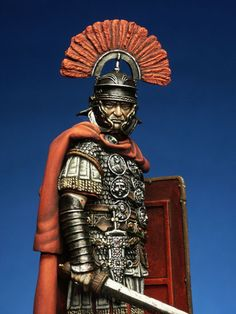Roman Centurion, I A.D. Worn at the time of the mass murder of all boy babies of Bethlehem 3 years old and younger. (Matthew 2:16)
