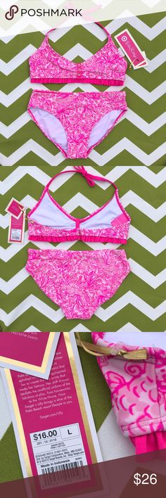cabede0bbdd1d Lilly Pulitzer Bikini Lilly Pulitzer for Target Bikini (Kids) Brand new  with tags Size