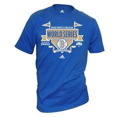 UCLA 2012 Men's Baseball NCAA College World Series T-Shirt - Blue