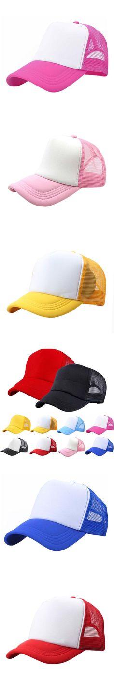 Baseball Cap Boys Girls Snapback Hip Hop Fashion Hat Kids Peaked Hats