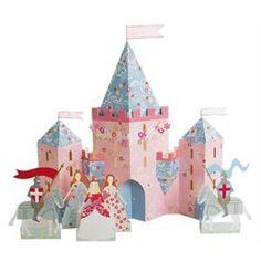 Prinzessinnen-Schloss zum Basteln - Google Search