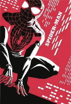 FRIDAY BOMB DROP 1Spider-man 1 variant cover by @michaelchoyes. this book will come out one day :)