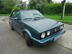 Vw Golf Gti Mk 1 Convertible Lhd 'etienne Aigner' Limited Edition (power Roof) - http://www.vwgticarsforsale.com/vw-golf-gti-mk-1-convertible-lhd-etienne-aigner-limited-edition-power-roof/