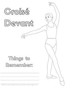 Ballet Technique Coloring Pages Vol. Ballet School, Ballet Class, Ballet Dance, Teach Dance, Dance Camp, Dance Coloring Pages, Coloring Sheets, Ballet Books, Dance Crafts
