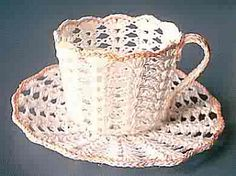 Ravelry: Shell Cup and Saucer pattern by Vicki Peterson