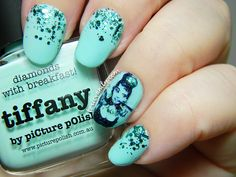 Picture Polish Blog Fest 2013 | Breakfast at Tiffany's Nail Art | Toxic Vanity