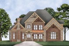 This 2 story  features 3143 sq feet. Call us at 866-214-2242 to talk to a House Plan Specialist about your future dream home!