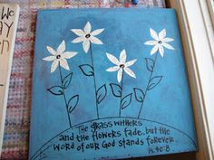 canvas with bible verse (special order)