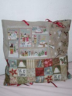 Christmas Cross, Vintage Christmas, Christmas Ornaments, Xmas, Cross Stitching, Cross Stitch Embroidery, Lizzie Kate, Theme Noel, Beatrix Potter