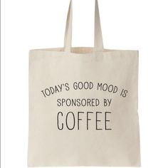 Canvas tote Canvas tote bag perfect for everyday use. Boutique Bags Totes