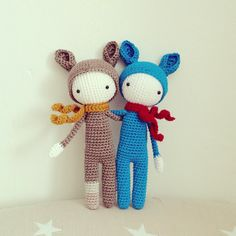 cute amigurumi by anna.jwlr